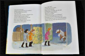 Op stap met de Roskam Vivian den Hollander AVI E4 Naar buiten! Pony in nood Slapen in de stal leren lezen bundel serie boekenreeks paarden pony's manege recensie review