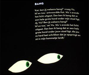Kat en Vis Alain Clark Loes Riphagen Moon prentenboek fantasie vriendschap huis avonturen wereld ervaren realistisch alledaagse dingen gedachte hart recensie review