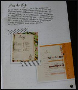 Mijn Bullet Journal Pocket Eenhoorn Zwart Goud Driehoek Pioenroos Mijn Bullet Journal Eenhoorn bujo bullet journaling compact crash course keys design stipjes praktisch overzicht BBNC recensie review