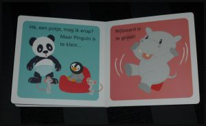 Panda op het potje Studio Circus Kartonboek Leopold zindelijk worden potje cadeau zindelijkheid vrolijk doel speels recensie review