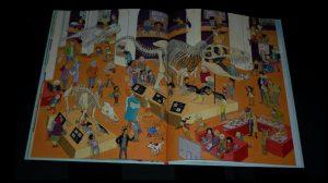 Zaterdag Saskia Halfmouw Zoekboek Leopold prenten afbeeldingen zoekplaten tekeningen ontsnapte hond boekenhelden sportveld zwembad activiteiten boodschappen markt grappig sprookjesfiguur hint opzoeken recensie review