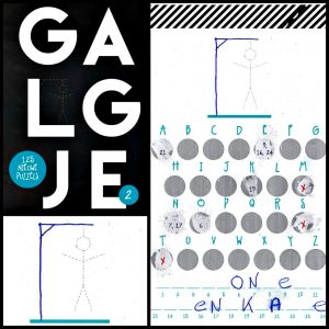 Galgje 2 N. Neven BBNC Uitgevers solo spel spelletje puzzel woorden raden tegenstander kraslaag woorden verlies onvoorspelbaar recensie review