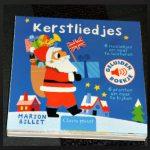 Kerstliedjes Geluidenboekje Marion Billet Clavis Baby- en peuterboeken kartonboekje liedjes Engelse kersliedjes kerstman tekeningen recensie review