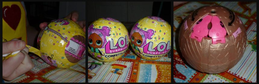 L.O.L. Surprise Confetti Pop MGA Entertainment speelfiguur verrassingsbal surprise feest feestvreugde poppetje bril uitpakken accessoires hints vakjes lint recensie review