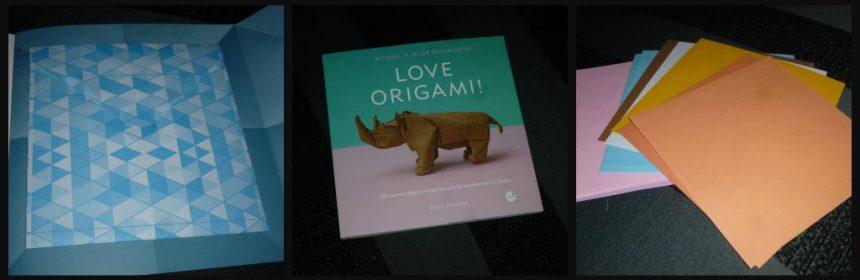 Love Origami Ross Symons BBNC MUS Creatief hobby paier origamipapier vellen beginnen foto stap voor stap gevouwen duidelijk omdraaien puzzelen poging instructie patronen recensie review