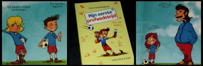 Mijn eerste profwedstrijd Heiko Wolz Zelf Lezen VI Kids dagboek jeugdteam profclub uitdaging trainen winkans winnen beginnende lezer moeilijke woorden uitleg recensie review