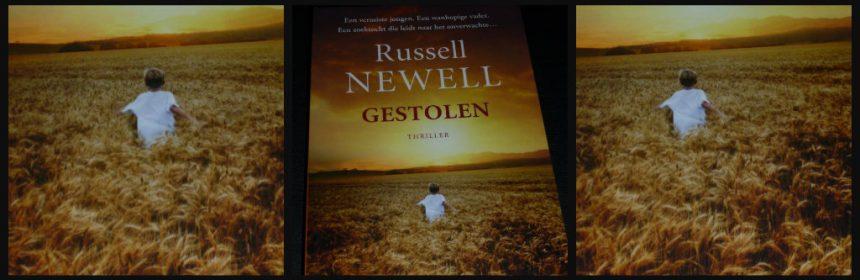 Gestolen Russell Newell AW Bruna Thriller vermissing zoektocht Facebook-berichten sociale media angst machteloosheid uitverkorene Bijbelse teksten recensie review