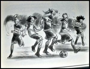 Het geheim van de vlucht Hajo Visscher Zelf Lezen Somalië vluchtelingen vluchtelingenkampen voetbalclub zoektocht hulp tweelingzussen recensie review