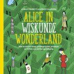 Alice in Wiskunde Wonderland Carlo Frabetti Wendy Panders Zelf Lezen Lannoo rekenen vermenigvuldigen tafels berekeningen sommen priemgetallen breuken foefjes trucjes Alice in Wonderland tekeningen vormgeving recensie review