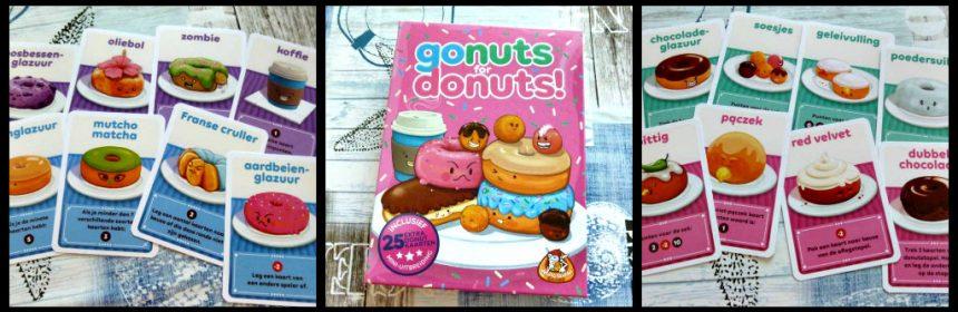 Go Nuts for Donuts White Goblin Games kaartspel strategisch scoren verzamelen spelregels spelervaring donutrij keuzekaarten donutkaarten recensie review