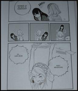 Opgeruimd! De manga Marie Kondo Konmari opruimen strips opruimgoeroe lessen stripverhaal speels grappig opvouwen kleding boekenkast laagdrempelig recensie review