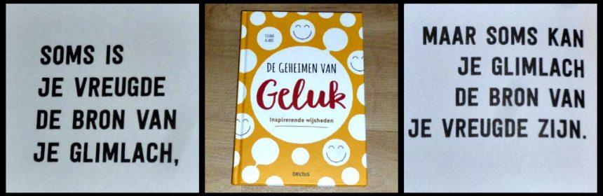 De geheimen van geluk Stefano Agabio cadeauboeken Deltas inspirerende wijsheden positief woorden trakteren presentje geluk (glim)lach recensie review