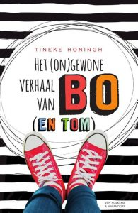 Het (on)gewone verhaal van Bo (en Tom) Tineke Honingh Van holkema & Warendorf cerebrale parese spastisch spasme pesten lef moed vriendschap school pubers jongeren recensie review