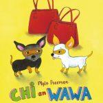 Chi en Wawa Mylo Freeman De Eenhoorn prentenboek tekeningen hondenliefhebbers chiwawa hondjes poes restaurant huisdieren recensie review