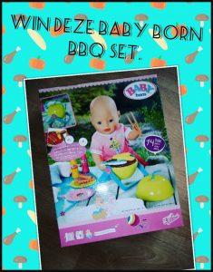 Baby Born Play & Fun Barbecue Set Baby Born BBQ set Instagram Facebook winactie winnen prijsvraag grillgeluiden flikkerende lichteffecten zomer poppenmoeder poppenvader batterijen sociale media