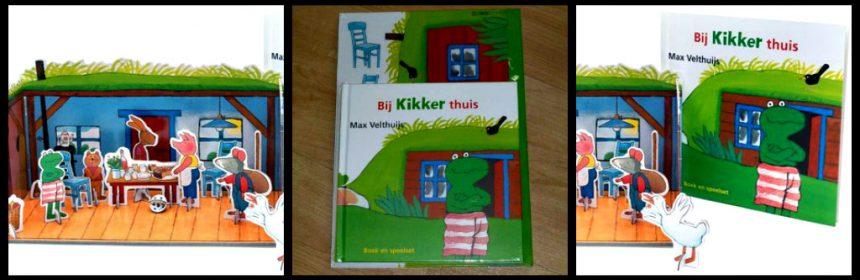 Bij Kikker thuis Boek en Speelset Max Velthuijs Leopold speelfiguren huis in elkaar zetten naspelen avonturen fansrecensie review