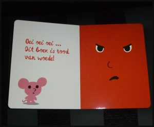 Het boze boek Cedric Ramadier Vincent Bourgeau De Eenhoorn emoties gevoelens boosheid rustig krijgen kalmeren school kinderopvang thuis muisje frustrerend methodes uitleggen recensie review