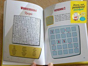 Hoera, met pensioen! Puzzelpret puzzels raadsels cadeauboek hobby Deltas getallenpiramiden lettervullers doolhoven sudoku woordzoekers shikaku rekenpuzzels oplossingen beginner waanzinnig grijze massa recensie review