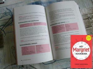 Het Margriet Kookboek Sonja van de Rhoer kookboek recepten tips informatie ingrediënten keuken keukenapparaten producten bewaren bereiden gerechten recepten naslagwerk handboek Google balansdagje voedingswaarde Hollands Italiaans Thais recensie review