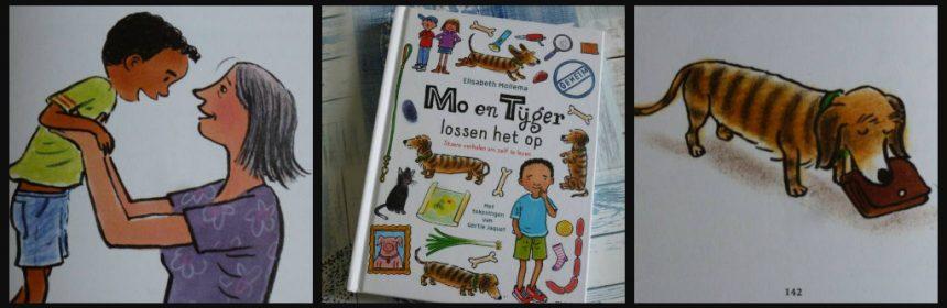 Mo & Tijger lossen het op Elisabeth Mollema Uitgeverij Moon Leren Lezen AVI E3 M4 E4 M5 E5 meegroeiboek avonturen speuren leren lezen tekeningen spannend recensie review