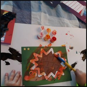 SES Ik leer verven SES Creative verven met kwasten verfkaarten moeilijkheidsniveaus kunstwerkjes rechte witte vlakjes zigzagpatronen veilig verantwoord knutselen vingerverven creativiteit afwasbaar recensie review