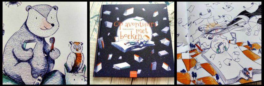 Op avontuur met boeken Henk Linskens Clavis prentenboek dromen verhalen avonturen boekenwurmen leerzaam dromen grappig boek kinderen lezen te weinig slimmer vindingrijker fantasie geluk magische wereld lezen recensie review