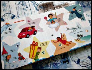 Rustgevende activiteiten Amandine Wanert kinderboeken Uitgeverij Holland bedritueel fantasiespel zingen yoga oefeningen voorlezen knuffelen slapen gaan vast element draaischijf olifant slurf recensie review