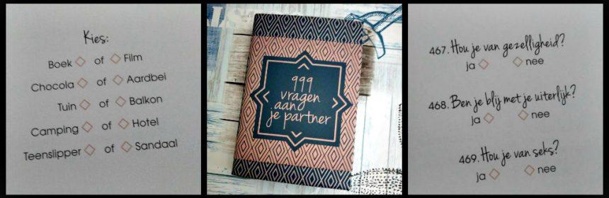 999 vragen aan je partner vragenboeken doeboek BBNC invulboek invullen 999 vragen aan jezelf 777 vragen aan jezelf voor kids uitleg ontdekken recensie review