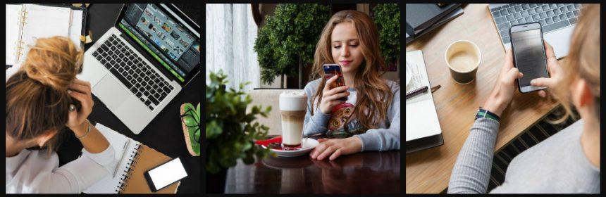 Smartphone telefoon mobiel prepaid abonnement sim-only website WhatsApp Instagram bereikbaar offline verslavend vrienden berichten toestel flexibiliteit contractperiode sms'en internet alleskunner bewust providers zoektocht vervanging