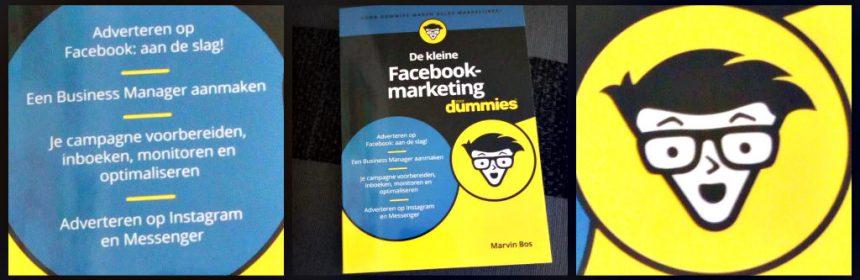 De kleine Facebook-marketing voor Dummies Marvin Bos informatief BBNC informatie budget doelgroep adverteren platform social media platform interesse aanpassingen Instagram aanpassingen recensie review