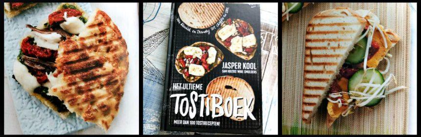 Het ultieme tostiboek Jasper Kool kookboek Cerrera boterhammen beleggen grillen klassiek trendy cheffy hollands spicy mediterraan werels zoet broodsoorten tosti-ijzer pan contactgrill oven combinatie inspiratie recensie review