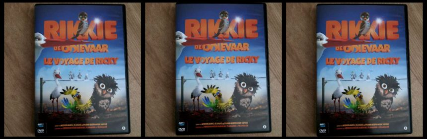 Rikkie de Ooievaar DVD Video On Demand VOD Just4Kids JustEntertrainment Afrika zuiden mus moedig reis avonturen spannend humoristisch lachen pleegouders familie kinderen leeftijdsadvies kijkervaring postduiven mix vroeger nu recensie review