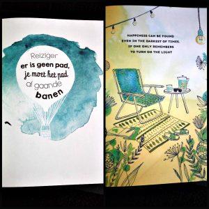Sestra Posterboek magazines Zomer Thuis kaarten posters afwisselen inlijsten fotobeelden quotes teksten plaatjes ophangen cadeau kado inspiratie recensie review