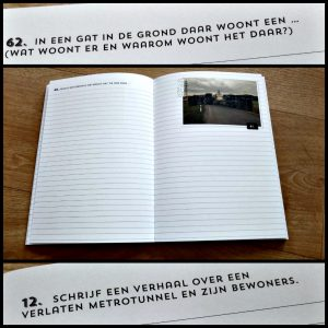 222 dingen om over te schrijven voor kids 333 dingen om over te schrijven volwassenen opdrachten foto's inspiratie toevoeging creatieve schrijvers verhaal plaatjes fantasie droombaan leven recensie review BBNC