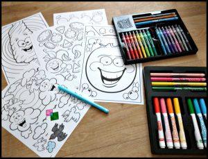 Crayola Silly Scents Geur- en Kleurset viltstiften kleurstiften krijtjes draaikrijtjes kleuren geuren dunne punt dikke punt kleuren kleurplaten ruiken kindertijd fruitgeuren discussie genieten tespanel recensie review