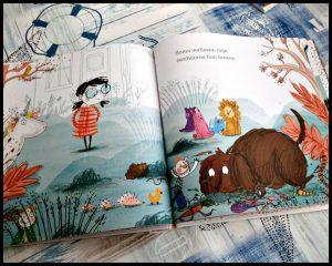 Emma Bos Eenhoorn Expert Morag Hood Ella Okstad prentenboek Rubinstein knuffels unicorns baby dieren magisch bijzonder kinderen tekeningen zeldzaam recensie review