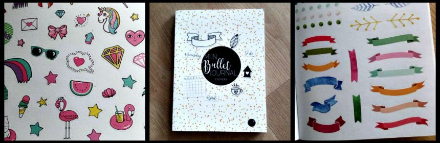 Mijn Bullet Journal Stickers Hobby MUS Creatief BBNC habittracker bujo washitape stickers stickerboek geur plakken stijlen zwart wit kleur tabjes aanrader persoonlijk recensie review