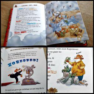 Reis door de tijd 10 Geronimo Stilton Zelf Lezen De Wakkere Muis spanning dinosaurussen prehistorie dino's Rokford 3D film bioscoop levensecht 3d tekeningen nieuwsgierig reis verhaal recensie review