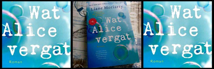 Wat Alice vergat Liane Moriarty A.W. Bruna roman hersenschudding ongeluk sportschool blog IVF terugblik leven veranderen langdradig verhaallijnen recensie review