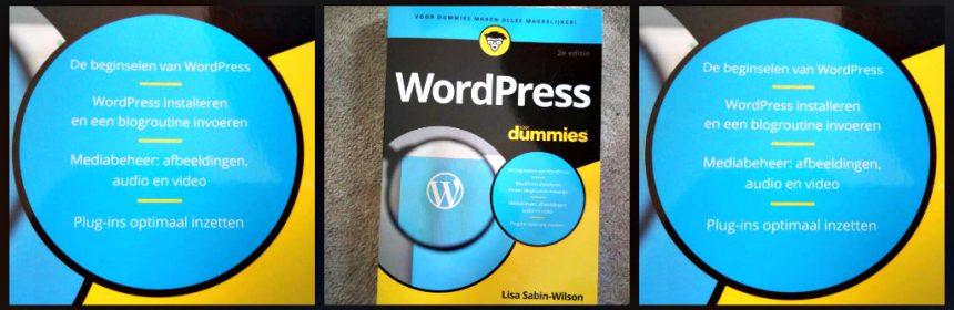 WordPress voor Dummies 2e editie Lisa Sabin-Wilson informatief Wordpress.com gehost platform WordPress.org server software programma stap voor stap geheimen online Google raadgever naslagwerk aanraden houvast toepassingen recensie review