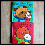Mijn mama en ik Mijn papa en ik Liesbet Slegers prentenboek Clavis herkenbaar voorwerpen dieren grappig aanrader kraamcadeautje voorlezen boekjes gemeen ouders kinderen recensie review