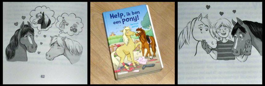 Help, ik ben een pony! Gertrud Jetten Zelf Lezen Kluitman paarden paardensnoepjes verandering dochter erf ziek dieren medicijnen ziekenhuis spoorloos zadel trailer recensie review