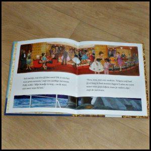 Gouden Boekjes Naar Amerika Sandra van Berkum Zelf Lezen Voorlezen Rubinstein prinses Beatrix stoomschip Rotterdam boot AVI E4 kinderen recensie review Holland Amerika Lijn SS Rotterdam