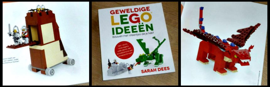 Geweldiige LEGO ideeën Sarah Dees creatief hobby Condor bouwsteentjes bouwwerken stappenplan basisonderdelen schema puzzelen kleuren dieren voertuigen vliegen bouwplezier auto's trucks stenen recensie review