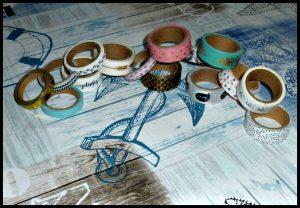 Mijn Bullet Journal Washitape knutselen creatief rolletjes papiertape bujo pimpen spullen design knutselwerken decoratiedoeleinden koker tape recensie review BBNC MUS Creatief