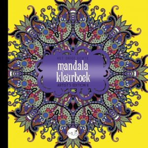 Het enige echte mandala kleurboek Artist's Edition II kleurboek MUS Creatief BBNC kleurplaten kleuren enkelzijdig bedrukt stevig papier hardcover creativiteit details inlijsten recensie review