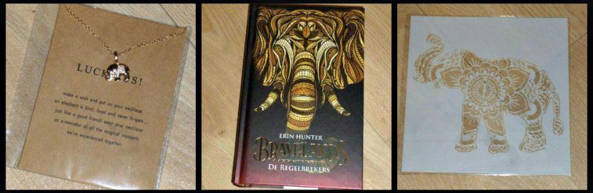 Bravelands: De Regelbrekers Erin Hunter Young Adult YA Fantoom boekenreeks leeuw olifant baviaan oppermoeder oppervader groep nieuwsgierig bavianen leider dieren recensie review De outsider Bloed en botten