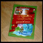 Avonturen in Fantasia 4 De verborgen voorspelling Geronimo Stilton Zelf Lezen De Wakkere Muis speelsheid Ridder zonder Vrees of Blaam draken heksen elfen feeën landschap mysterieus spannend betovering geschenk recensie review