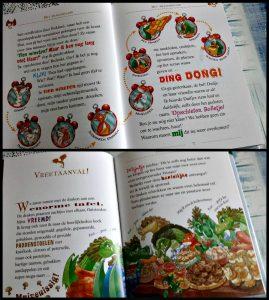Fantasia XIII Het Drakeneiland Geronimo Stilton De Wakkere Muis prenten tekeningen geuren ruiken draken 3D spelletjes zoekplaatjes opdrachten boekenreeks zelf lezen afwisseling spanning avontuur humor vormgeving recensie review