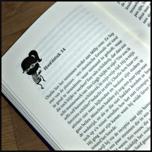 Gangsterschool Kate Wiseman Zelf Lezen Uitgeverij Holland tekeningen hoofdstukken braaf crimineel boeven schurken ontgroening Rabauw College boef eerste deel boekenserie boekenreeks kinderboekenreeks bos complot recensie review